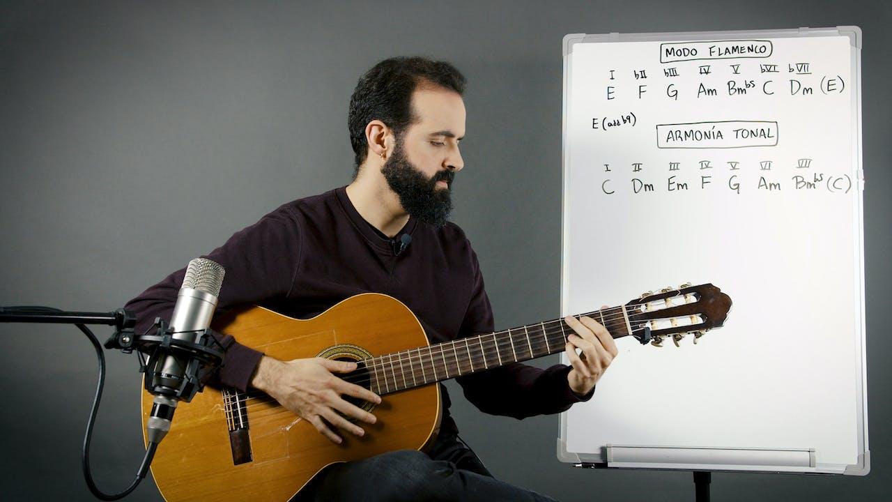 Introducción al flamenco - La armonía en el flamenco