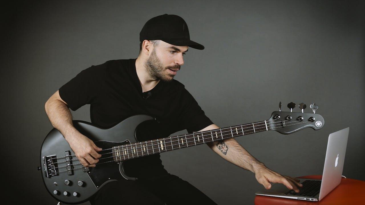 Introducción al Jazz - Walking bass - Construyendo líneas Walking en acordes m7