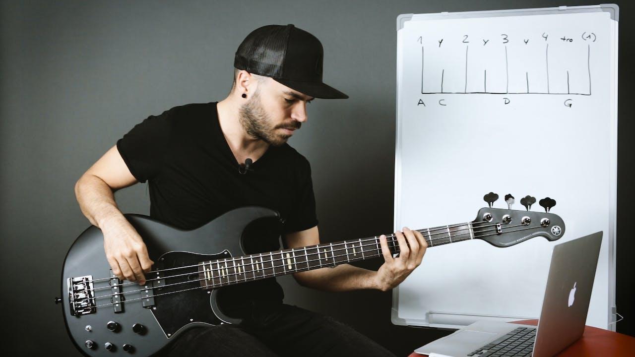 Creación de grooves a partir de la gráfica del ritmo (principiante)