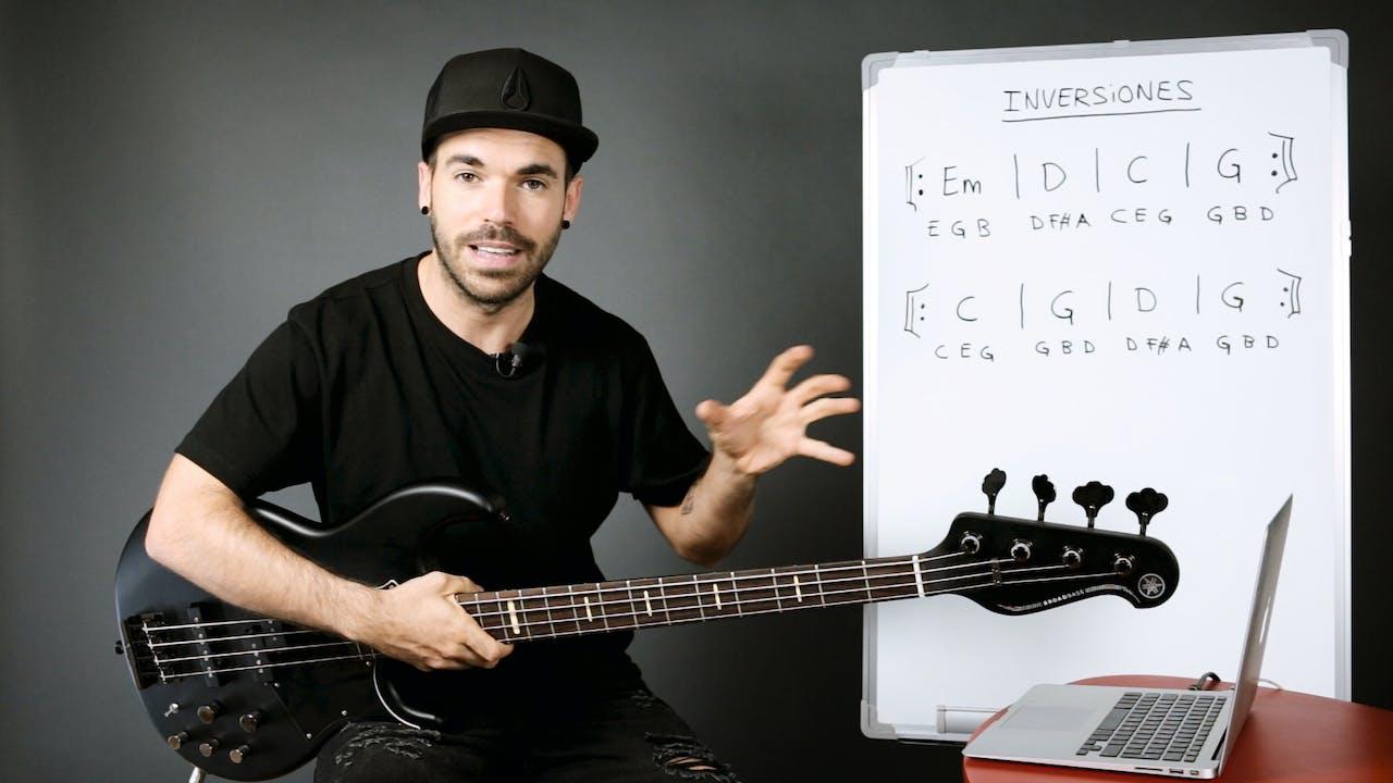 Armonía musical para bajistas - Inversiones