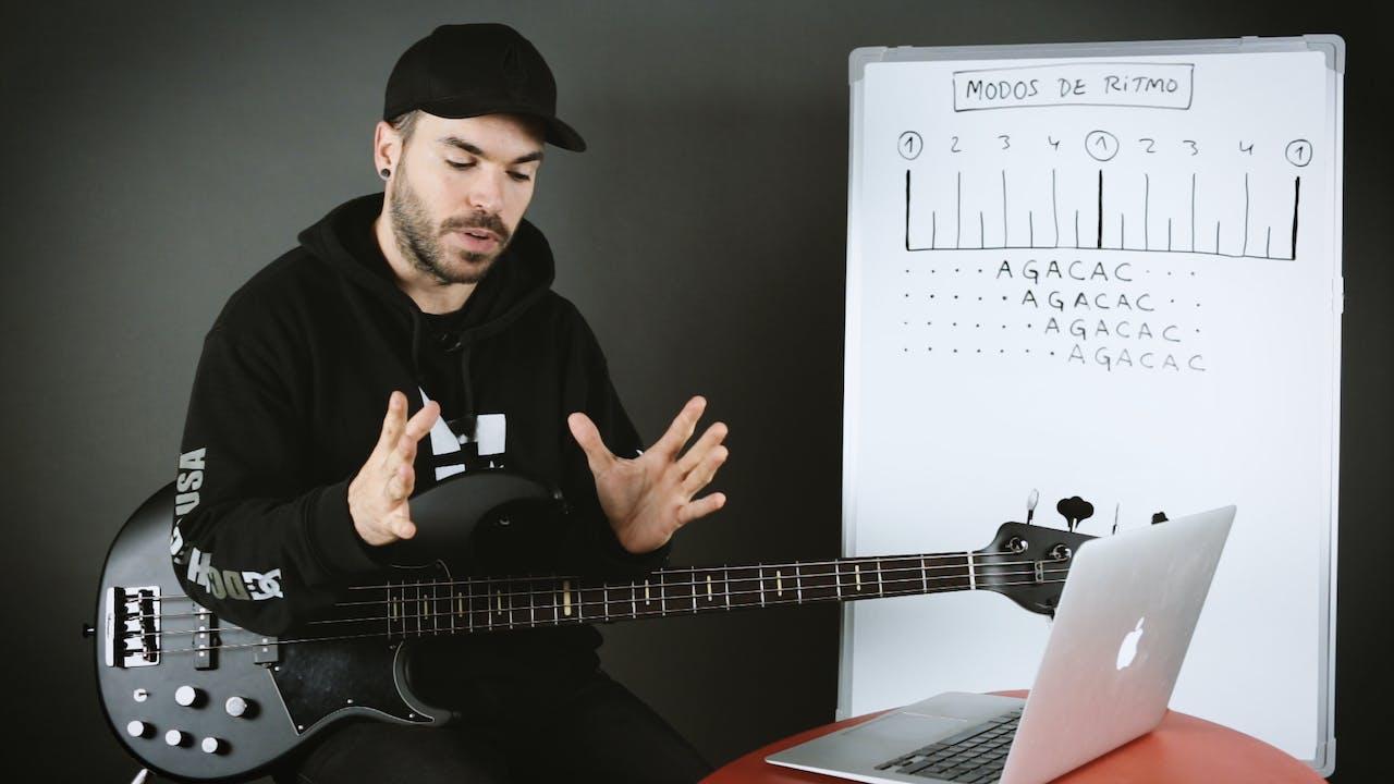Ritmo - Modos de ritmo (principiante)